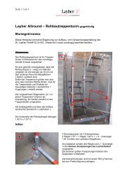 Aufbau- und Verwendungsanleitung - baugeraete-schmid.de