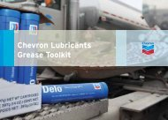 Chevron Lubricants Grease Toolkit - CBS Parts Ltd.