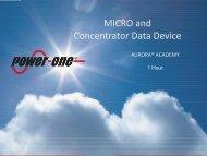 micro, cdd - Power-One