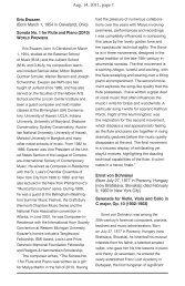 Aug. 14, 2011, page 1 - Bridgehampton Chamber Music Festival