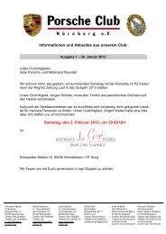 Porscheclub Info Ausgabe 01-2013 - porsche-club-nuernberg.de