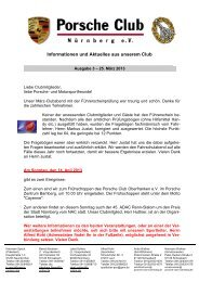 Porscheclub Info Ausgabe 03-2013 - porsche-club-nuernberg.de