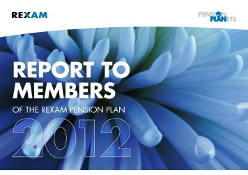 Report to Members 2012 - Home page DB Plan