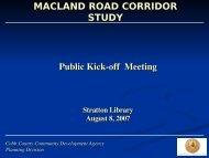 Kick-off Meeting Presentation - Community Development - Cobb ...
