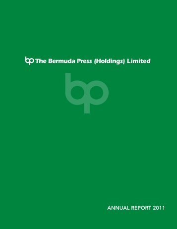 ANNUAL REPORT 2011 - Bermuda Stock Exchange