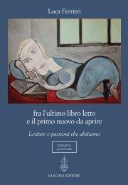 fra l'ultimo libro letto e il primo nuovo da aprire - Casa Editrice Leo S ...