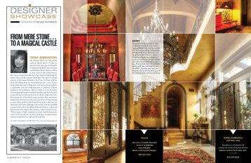 DESIGNER - Elegant Living Magazine