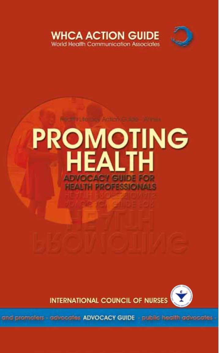 promoting communication in health Why health communication is important in public health rajiv n rimal a & maria k lapinski b a department of health, behavior and society, johns hopkins university, baltimore, md, united states of america (usa.