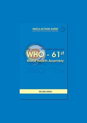 draft - World Health Communication Associates