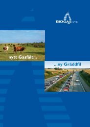Biogas Syd - Kommunförbundet Skåne