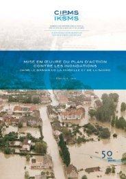 Plan d'action contre les inondations Bilan 2006 - 2010 - iksms