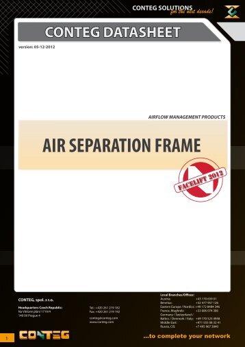 AIR SEPARATION FRAME - Conteg