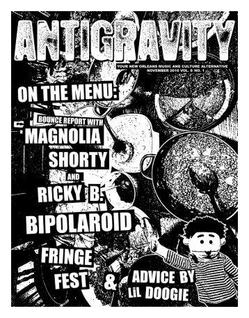 November 2010 (PDF) - Antigravity Magazine