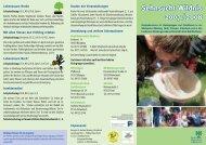 Sehnsucht Wildnis 2007 / 2008 - Bund Naturschutz Nürnberg