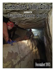 franklin county grotto - Mid-Atlantic Karst Conservancy