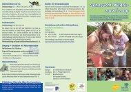 Sehnsucht Wildnis 2008 / 2009  - Bund Naturschutz Nürnberg