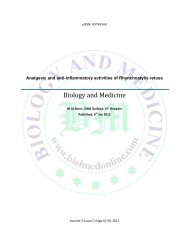 Analgesic and anti-inflammatory activities of Rhynchostylis retusa