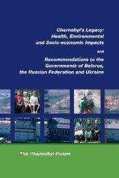 Chernobyl's Legacy: Health, Environmental and Socio-economic ...