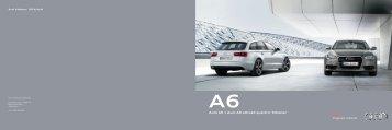 Tilbehørsbrosjyre Audi A6 og A6 allroad quattro