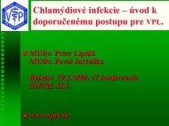 odporúčaný postup diagnostiky a liečby infekcie Chlamydia ...