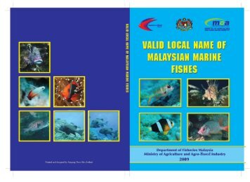 Valid Local Name of Malaysia Marine Fishes.pdf - Seafdec