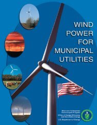 Wind Power for Municipal Utilities - Wind Powering America
