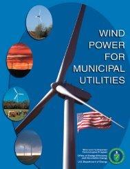 Wind Power for Municipal Utilities - Wind Powering America