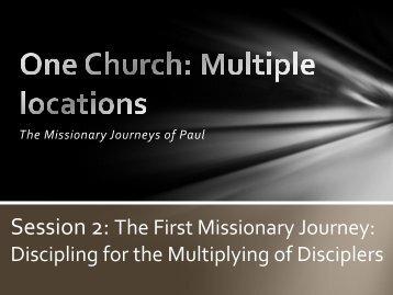 Bible Study Slides: Pastor Tim Marshall - Woodbury Lutheran Church