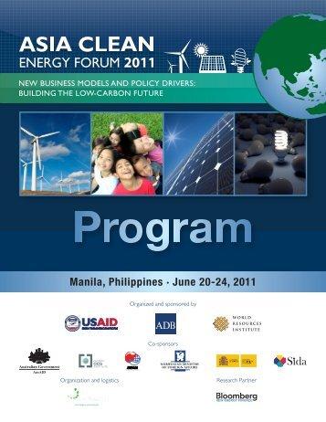 Manila, Philippines • June 20-24, 2011 - World Resources Institute