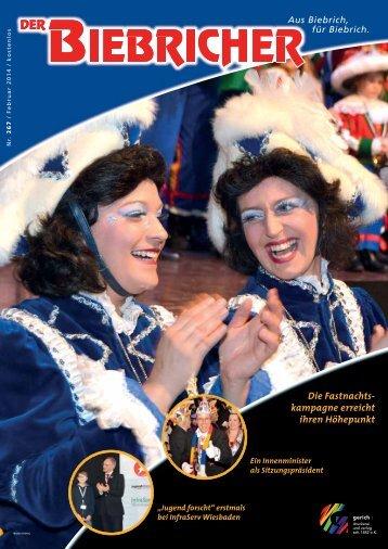 DER BIEBRICHER, Ausgabe 267, Februar 2014