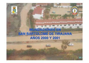inundaciones en san bartolomé de tirajana años ... - PREMUMAC