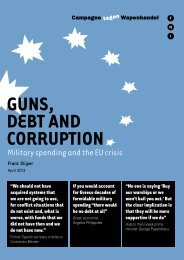 Military spending and the EU crisis - Transnational Institute