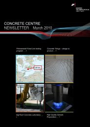 Newsletter Concrete Centre March 2010 - Danish Technological ...