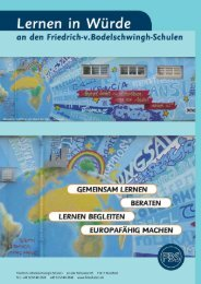 Förderkonzepte - Friedrich-v.Bodelschwingh-Schulen