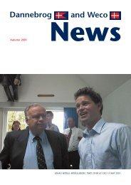 Dannebrog News Autumn 2001 - Weltrekordreise
