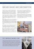 Dannebrog News Autumn 2001 - Weltrekordreise - Page 5