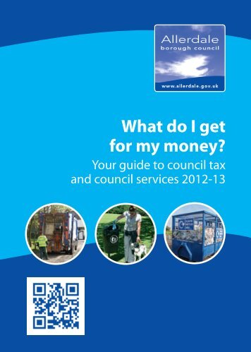 Council Tax Summary 2012-13 in PDF format - Allerdale Borough ...