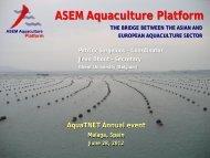 ASEM Aquaculture Platform - Aqua-tnet