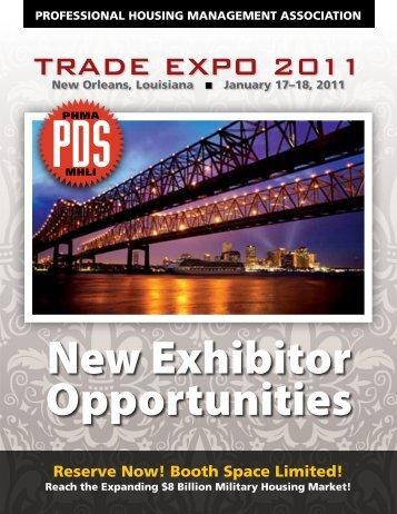 TRADE EXPO 2011 - Join PHMA!