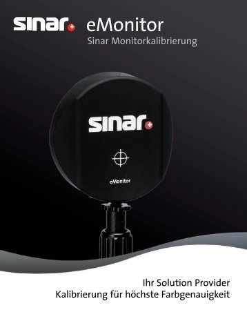 eMonitor - Sinar Photography