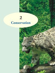 Conservation - Ministry of Environment and Forests