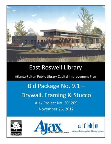9 1 DRYWALL FRAMING AND STUCCO.pdf - Fulton County