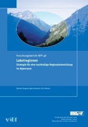 Labelregionen - vdf Hochschulverlag AG an der ETH Zürich