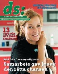 DS (pdf 4 390 kB, öppnar nytt fönster) - Försäkringskassan