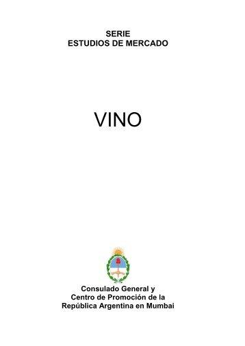 La Industria de Vino en la India - Wines Of Argentina