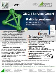 DAkkS-Kalibrierzentrum - gmci-service.com