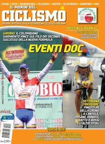 EVENTI DOC - Federazione Ciclistica Italiana