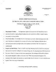 HOUSE COMMITTEE ON FINANCE S.B. 3006, S.D. 2 H.P. 1 ...