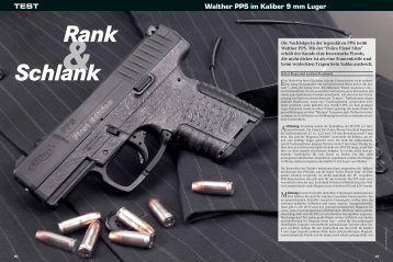 Walther PPS im Kaliber 9 mm Luger TEST