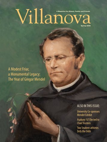 A Modest Friar, a Monumental Legacy - Villanova University